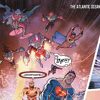 Mera Takes On the Justice Fish in Justice League #11 Preview