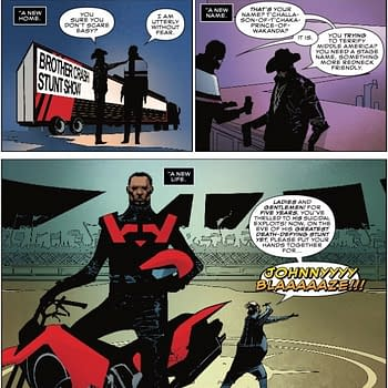 The Role of American Xenophobia in Next Weeks Infinity Wars: Ghost Panther #1