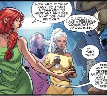 Beast is Too Busy to Save the World in Next Weeks Uncanny X-Men #2