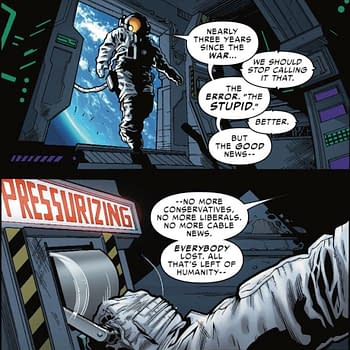 Ending the Political Divide Between Liberals and Conservatives in Spider-Force #2