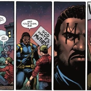Bishop Respects the Free Speech Rights of Anti-Mutant Protestors in Next Week's Uncanny X-Men #3