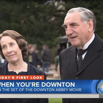 TODAY Show Live From the Downton Abbey Movie Set