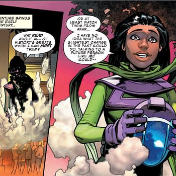 Kamala Kang Makes a Classic Time Travel Mistake in Next Weeks Infinity Warps #2