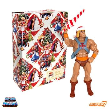 Masters of the Universe Holiday He-Man Figure From Super7 Available Monday
