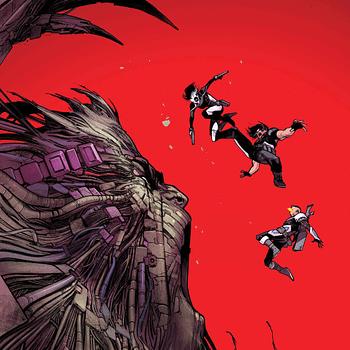 Ahab Still Exterminating Mutants in Februarys X-Force #3