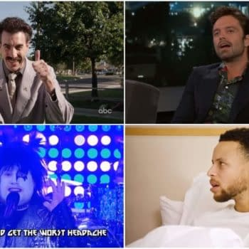 "Borat, ""Bucky Cap,"" Curry, KISS, and More! (BC's Late-Night Rewind)"