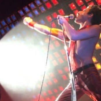 Bryan Singer Shares BTS of 'Bohemian Rhapsody' Live Aid Rehearsal