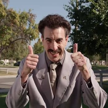 Jimmy Kimmel: Sacha Baron Cohens Borat Goes Trump-Stumping for GOP (VIDEO)