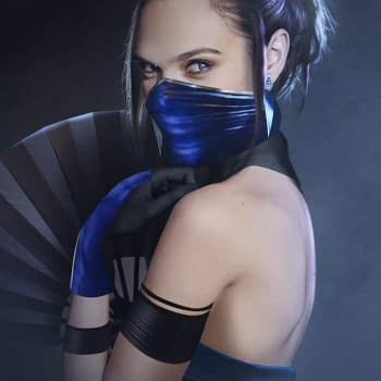 BossLogic Reimagines Gal Gadot as Kitana from Mortal Kombat