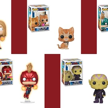 Funko Releases Captain Marvel Line of Pops Dorbz and More