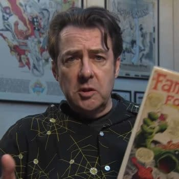 """Jonathan Ross Launches """"In/Spectre"""" and """"Somali And The Forest Spirit"""" at MCM London Comic Con"""