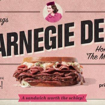 The Carnegie Deli Reopens [Kinda] for 'The Marvelous Mrs. Maisel'