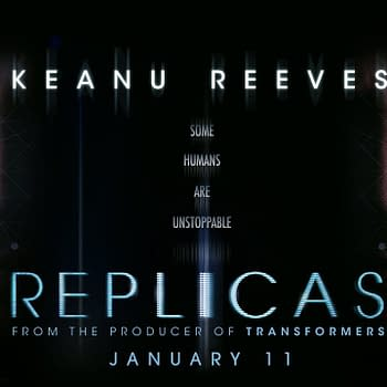 A Trailer for Replicas Starring Keanu Reeves and Alice Eve