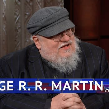 George R. R. Martin Stops by The Late Show with Stephen Colbert Talks Turtles