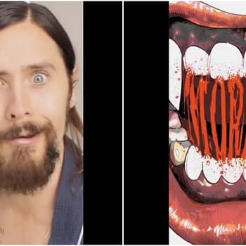 Jared Leto Shaves for Morbius While He Can Still See His Reflection (VIDEO)