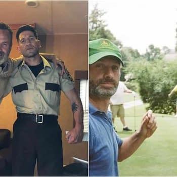 The Walking Dead Season 9: Nicotero Shares Shane/Rick Pic Yuen Honors Lincoln Wilson