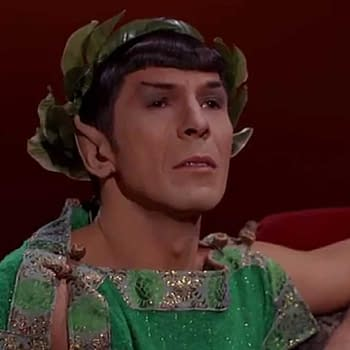Wanna Buy Spocks Toga from Star Trek: The Original Series at Auction