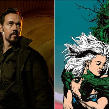 Swamp Thing: The Strains Kevin Durand Set as Jason Woodrue/Floronic Man