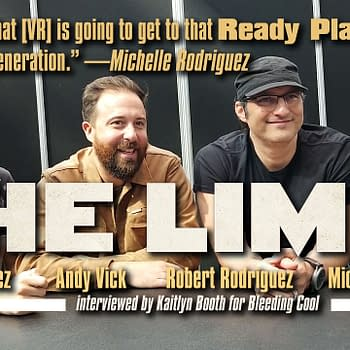 Interview with Robert Rodriguez and Michelle Rodriguez for the VR Film The Limit