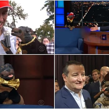Check Out Triumph the Insult Comic Dogs Bipartisan Beto ORourke Ted Cruz Takedown (VIDEO)