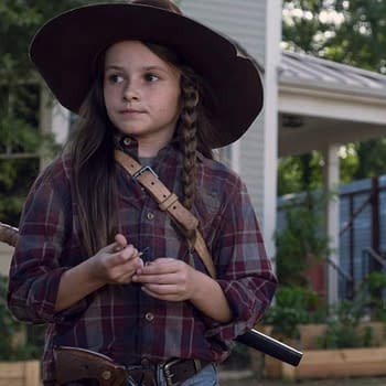 The Walking Dead Showrunner Angela Kang Talks Judith Negan R.J. and The Whisperers
