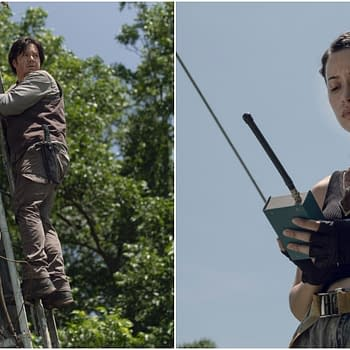 The Walking Dead Season 9 Episode 6 Who Are You Now: Are Rosita and Eugene Hearing the Whispers (Preview)