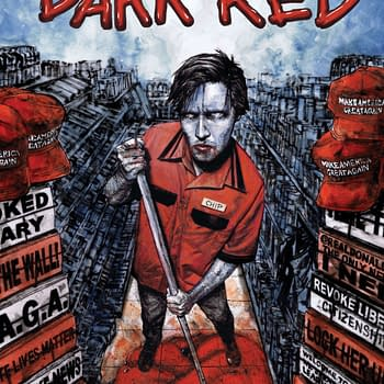 Tim Seeley and Corin Howell Explore Americas Political Divide with Vampires in New Series Dark Red