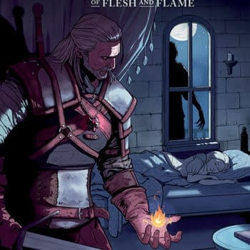 The Witcher: of Flesh and Flame #1 Lacks Magic