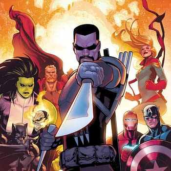 In March Blade Officially Joins the Avengers as Dracula Dies&#8230 Again