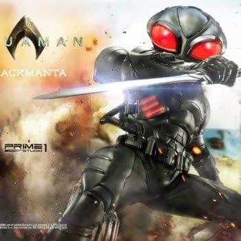 Aquaman Black Manta Prime 1 Studio Statue 11