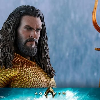 Aquaman Gets a Hot Toys Figure Release in 2019