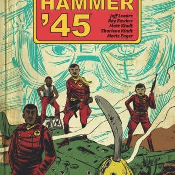 Jeff Lemire, Ray Fawkes, and Matt Kindt Take on WW2 Nazis in Black Hammer '45 Mini-Series