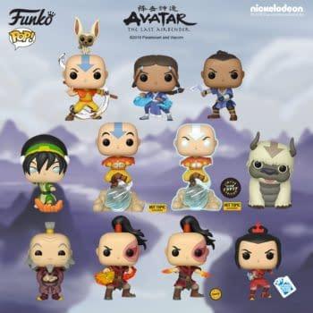FUNKO Announces 'Avatar: The Last Air Bender' Pop Vinyls!