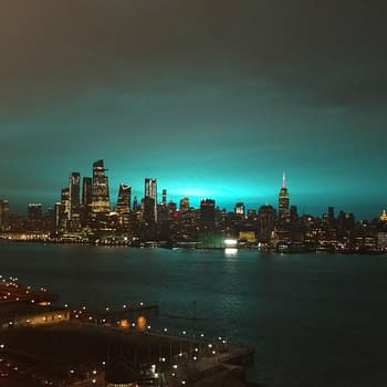 Did Aliens Land in New York City Or is it Something More Mundane