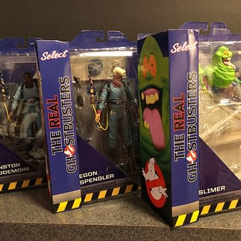 Lets Take a Look at the Real Ghostbusters Figures From Diamond Select Toys