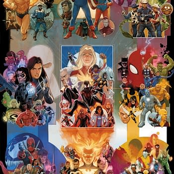 Marvel Reveals Phil Noto Interlocking Variants for 80th Anniversary