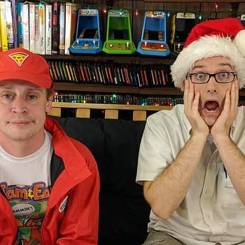 Macaulay Culkin Visits the Angry Video Game Nerd for Christmas