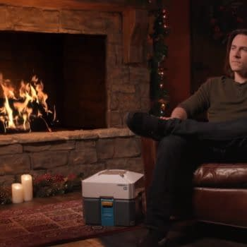 Watch Matthew Mercer Roasting by an Overwatch Christmas Fire