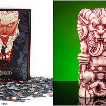 Mondo Celebrates the Holidays With Castlevania Puzzle and Krampus Tiki Mug