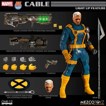 There is a Previews Exclusive Version of the One:12 Collective Cable Figure