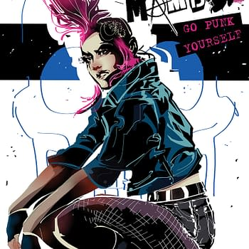 Valiant Smashes the System With Line Art Preview of Punk Mambo #1