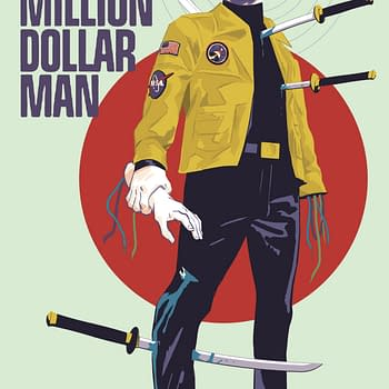 Christopher Hastings &#038 David Hahn Reboot the Six Million Dollar Man at Dynamite in March