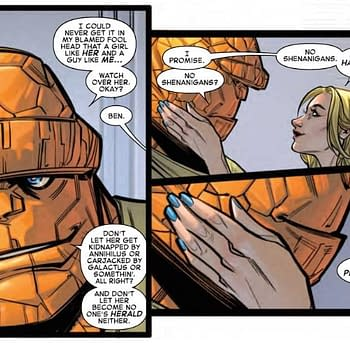 Ben Doesnt Want Any Shenanigans at Alicias Bachelorette Party in Next Weeks Fantastic Four Wedding Issue