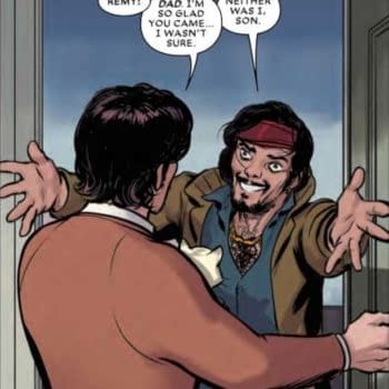 Gambit's Dad Pays a Visit in Next Week's Mr. and Mrs. X #6