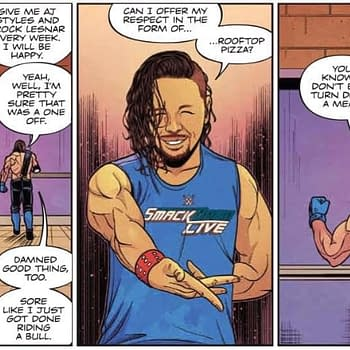 Shinsuke Nakamura Has an Impossible Dream in Next Weeks WWE #24