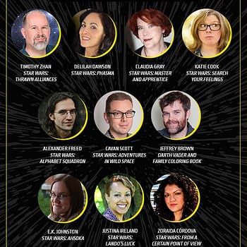 Star Wars Celebration Announces Author Guests Including Timothy Zhan