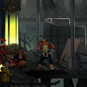 Lizardcube Shows Off a Little from Streets of Rage 4