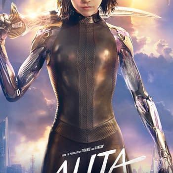 Robert Rodriguez Shares New Alita: Battle Angel Poster