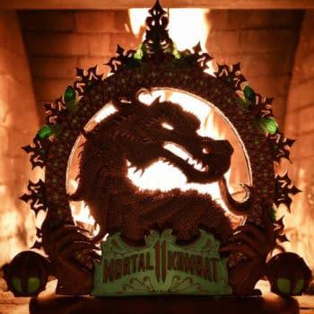 Christine McConnell's INCREDIBLE Mortal Kombat Gingerbread Dragon