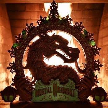 Christine McConnells INCREDIBLE Mortal Kombat Gingerbread Dragon